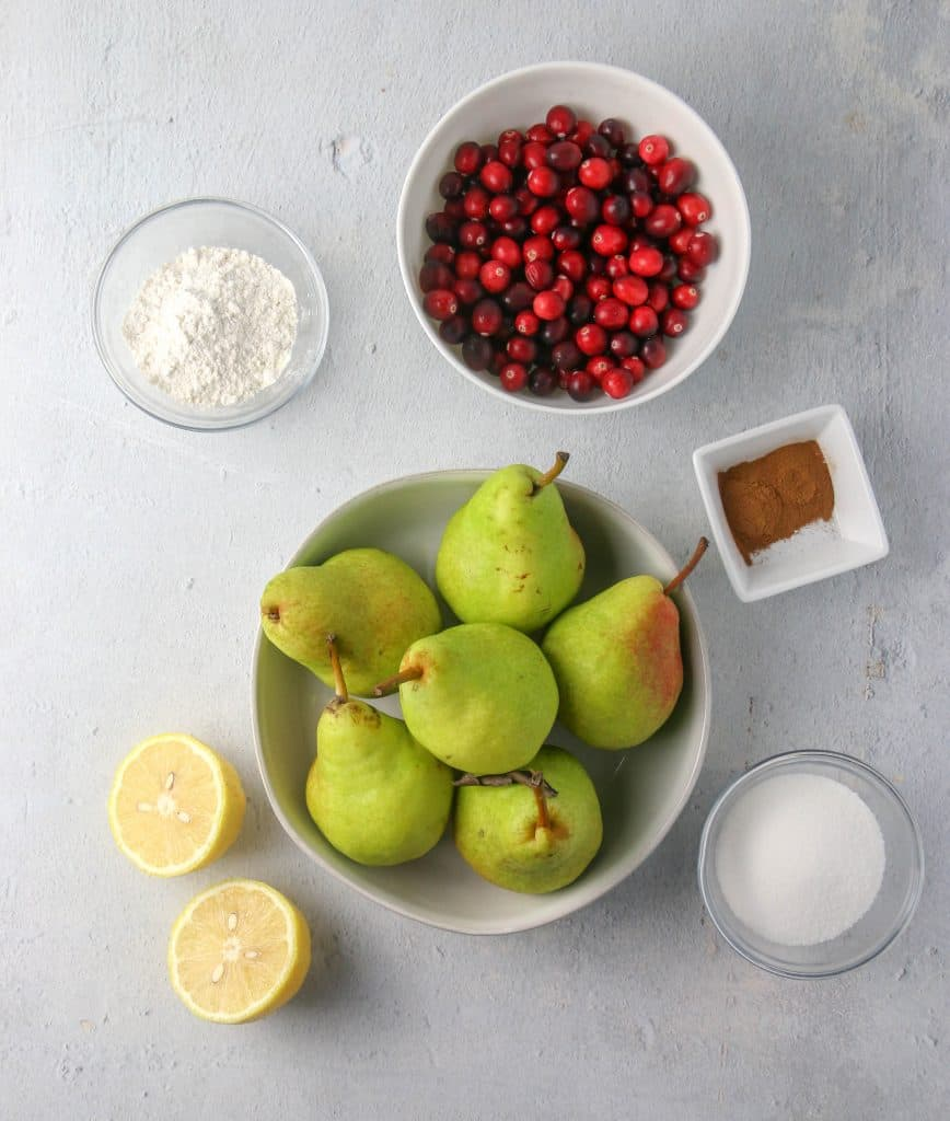 pear pie filling ingredients