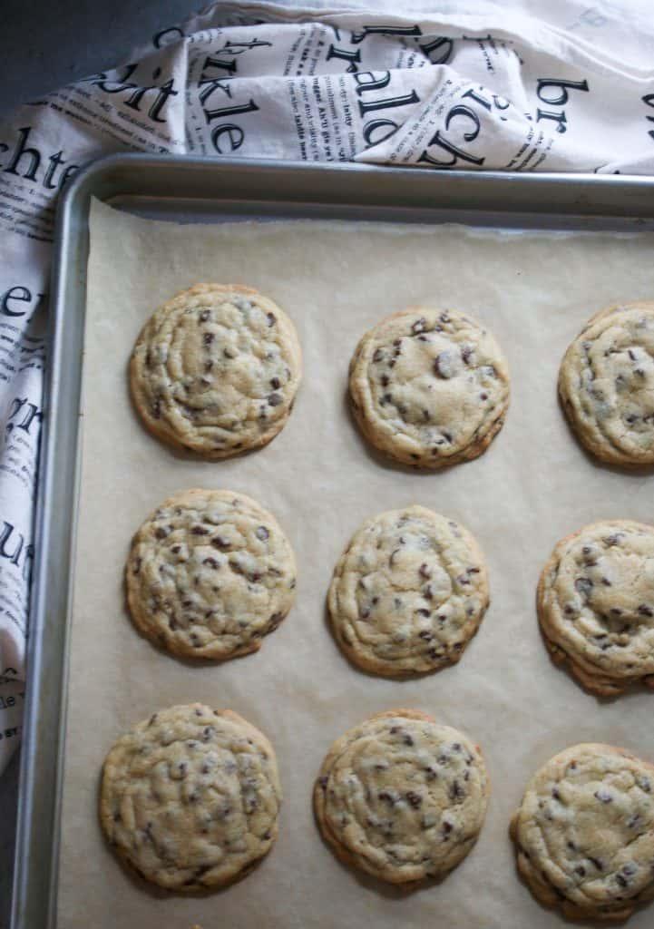 cookies ona cookie sheet
