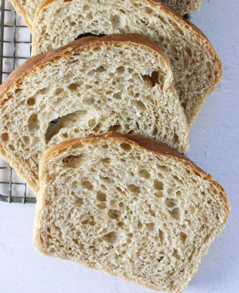 slices of whole wheat sandwich bread