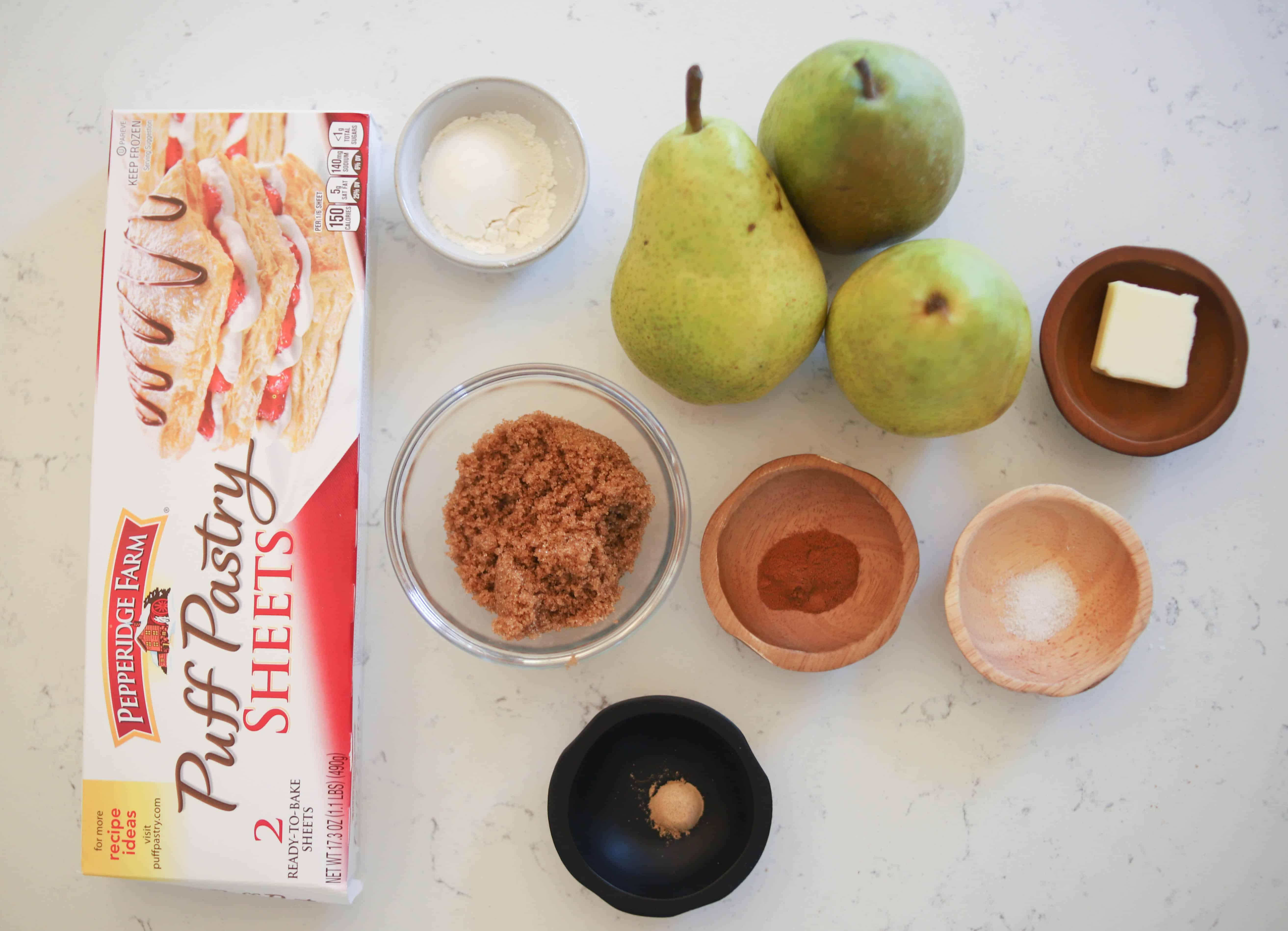 pear turnover ingredients