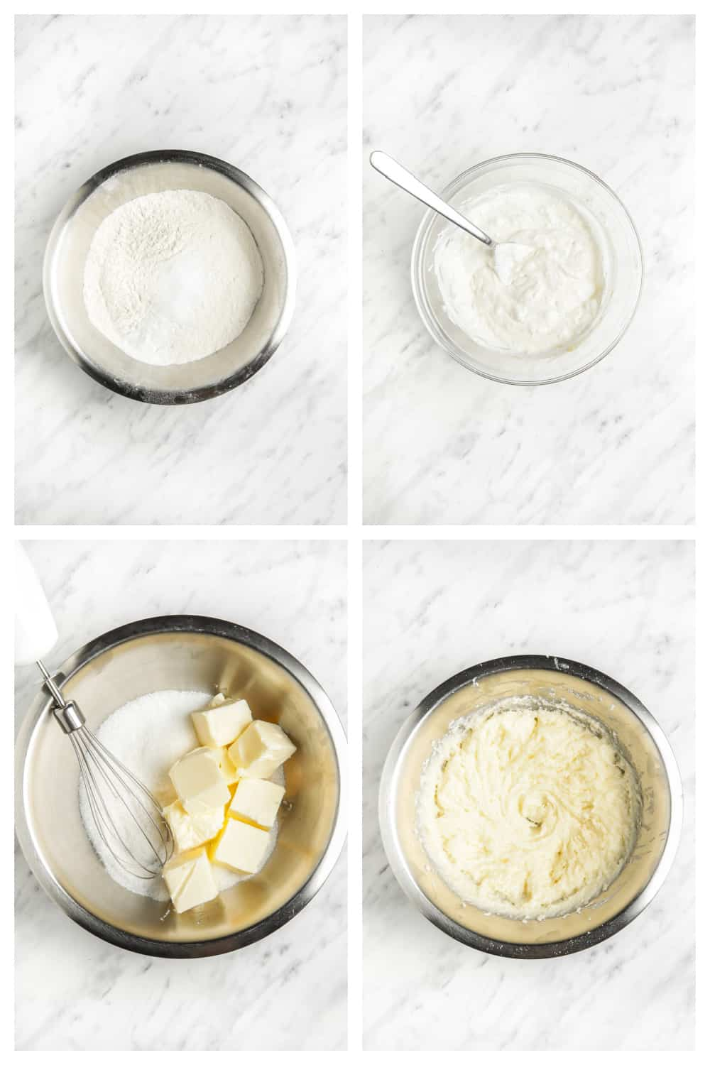 step by step photos of making lemon poppy seed bread