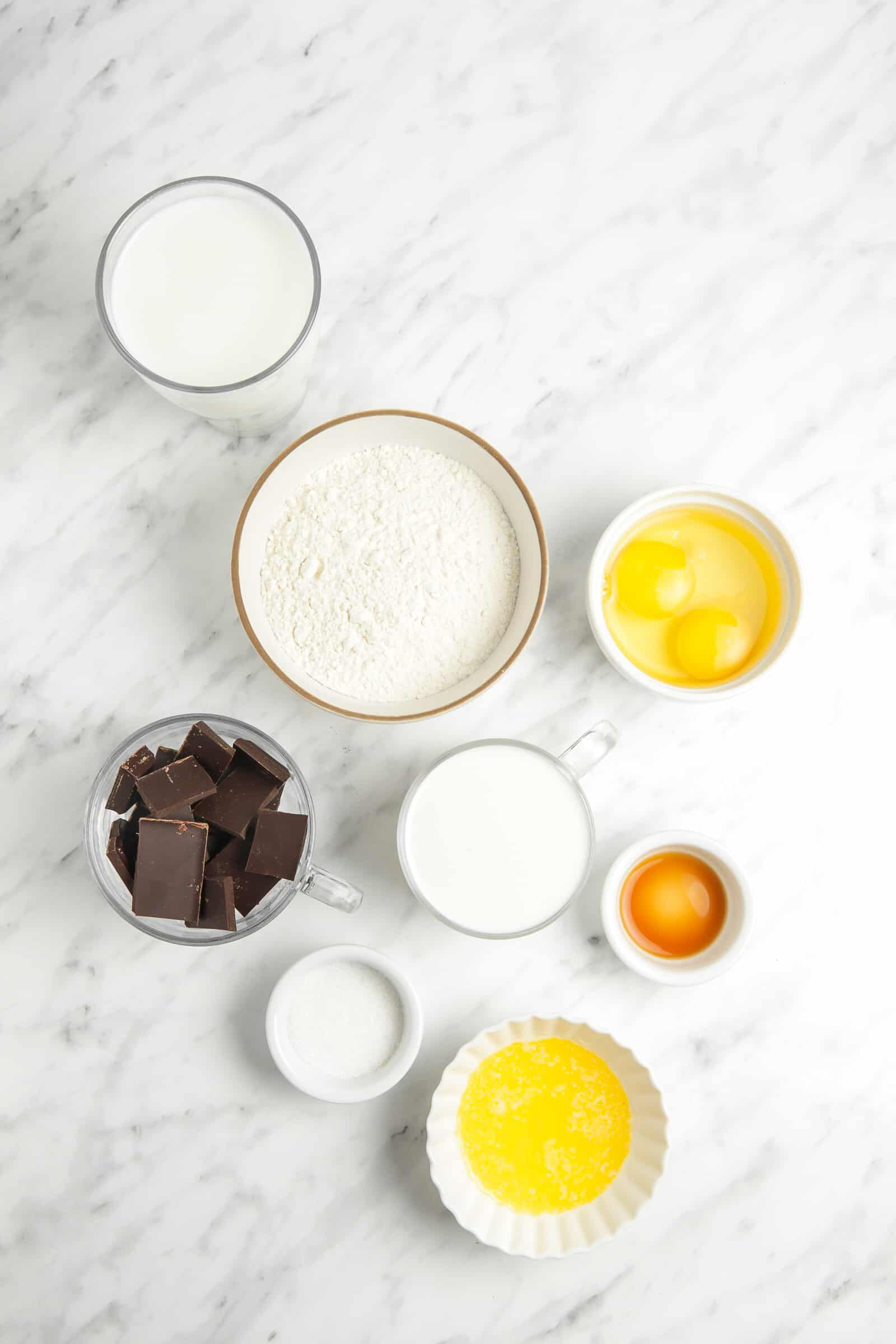ingredients for french crepe recipe