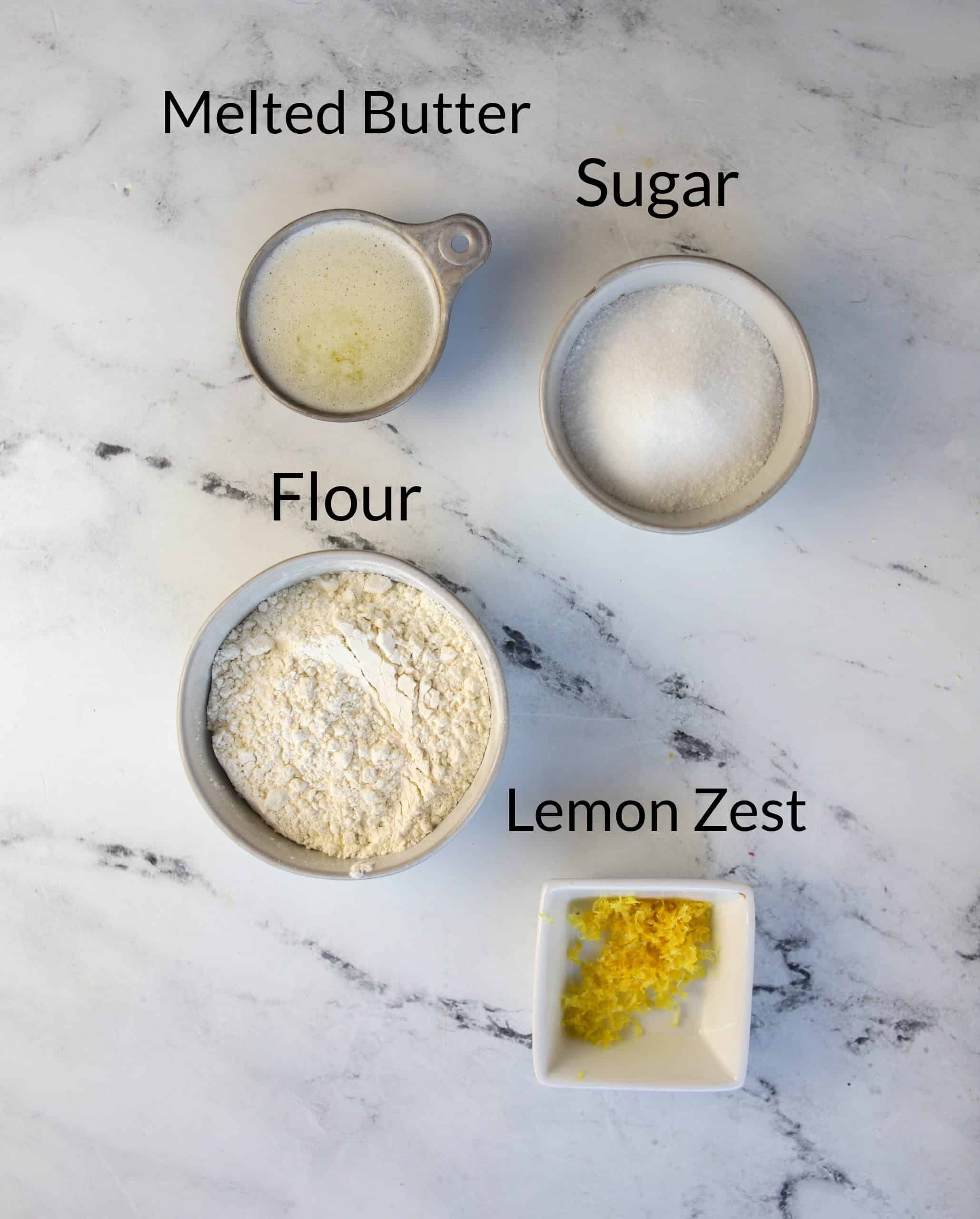 lemon crumb topping ingredients