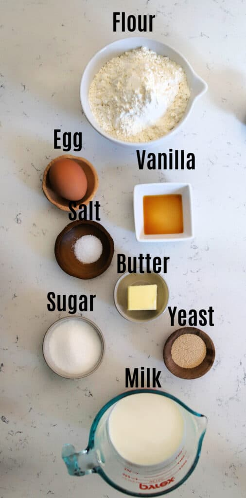 ingredients needed for donut dough