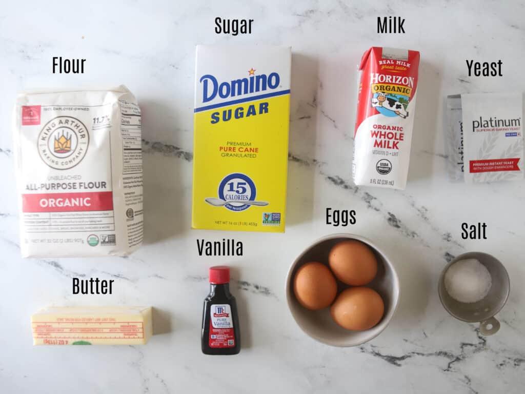 brioche ingredients