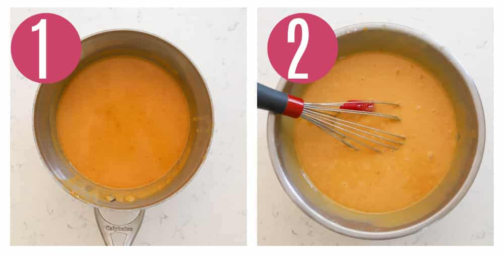step by step photos of making peanut butter cake